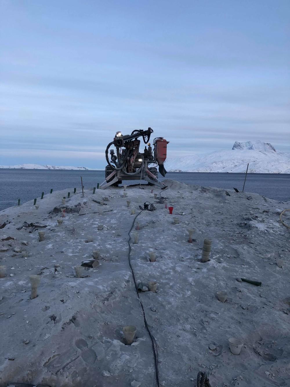 Satellite Groundstation i Nuuk